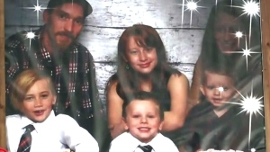 Memorial for N.S. family of six killed after trail