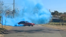 Police in Queensland, Australia, released dashcam footage on Sept. 15 of a car driving in a dangerous manner as part of a gender-reveal party.