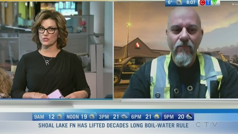 Tow truck driver Rob Flood has been clipped a few times while doing his job on the road. Rachel Lagacé reports.