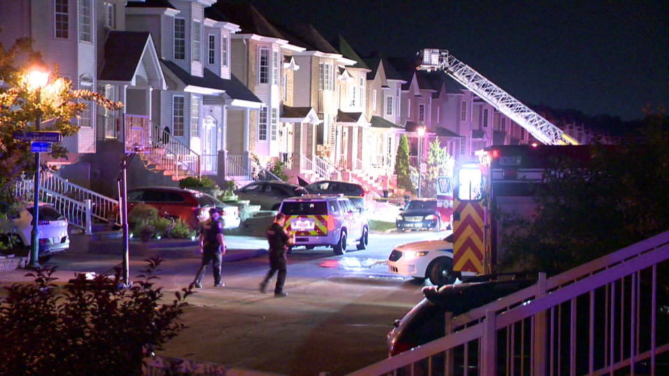 Laval police investigating arson and shooting
