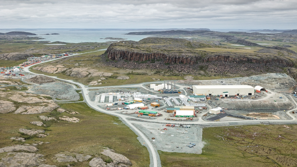 The Agnico Eagle Hope Bay gold mine