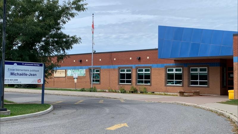 École élémentaire publique Michaëlle-Jean. (Leah Larocque / CTV News Ottawa)