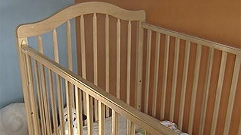 The company encourages parents to call for a repair kit to fix a plastic part that secures the railing so it can't move.
