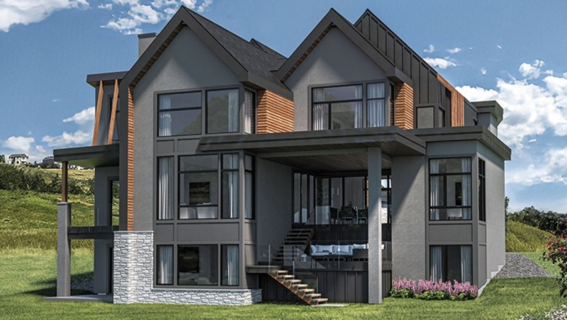 A $2.6 million custom-built home in Cranston is the grand prize in Calgary's Hospital Home Lottery. (Calgary Health Foundation)