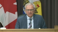 """""""If life is a little more difficult for those that choose not to be vaccinated at a time when other lives are threatened because of it, just maybe the decision will be made: 'OK it's time,""""' said New Brunswick Premier Blaine Higgs."""