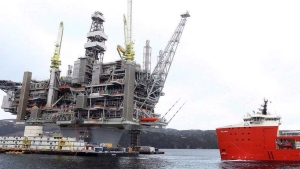 As prominent climate scientists argue that new offshore oil and gas extraction must end off Canada's East Coast, the three main political parties either support continued development or are unclear on precisely what they would change. (Photo via the Canadian Press)