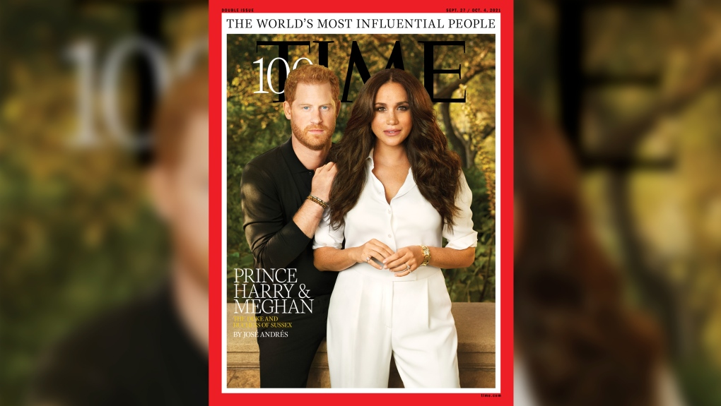 Harry Meghan TIME 100 most influential cover