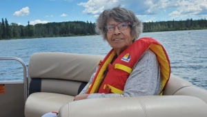 An arthritis medication is believed to have weakened Beatrice Bellegarde's immunity to COVID-19 despite being fully vaccianted. (Provided by Charleen Cote)