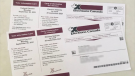 Elections Canada voter card for the 2021 Federal Election. (CTV News Barrie)