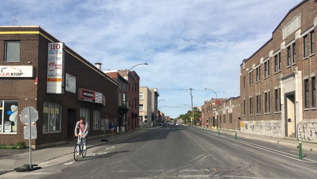 Bellechasse bike path, Montreal