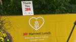 The 3M Harvest Lunch program helped kick off the 2021 United Way Leeds & Grenville fundraising campaign. (Nate Vandermeer/CTV News Ottawa)