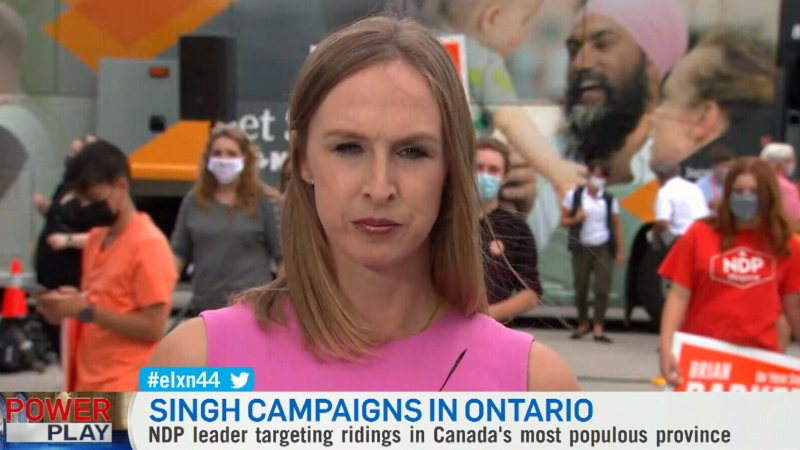Sept. 15: NDP campaign updates