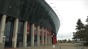 The Ottawa Senators hope fans will be allowed to pack the Canadian Tire Centre for the home opener. (Colton Praill/CTV News Ottawa)