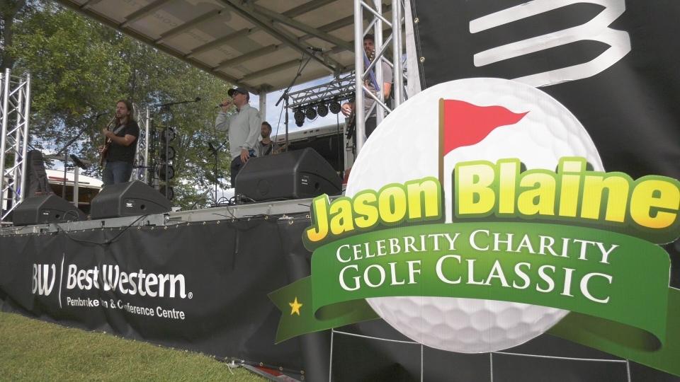 Jason Blaine Celebrity Charity Golf Classic