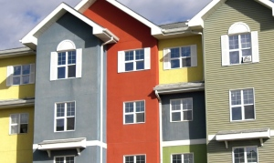 A rental housing unit is pictured in Saskatoon.