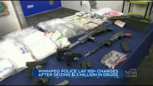 Police seize $1.5 million in drugs, firearms