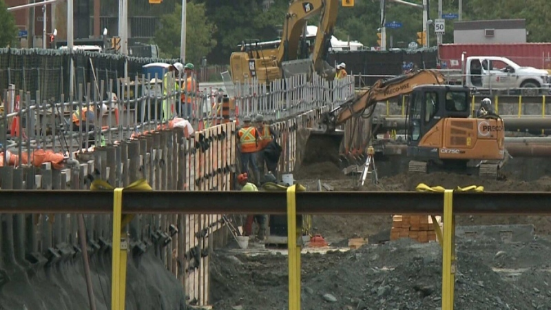 Southern LRT extension reaches new milestone
