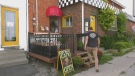The Lazy Cafe in Barrie, Ont., on Wed., Sept. 15, 2021 (Katelyn Wilson/CTV News)