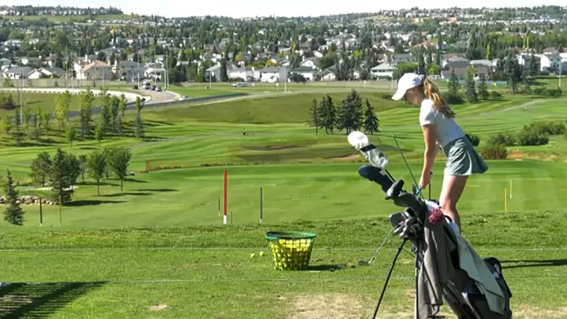 Calgary golfer Katy Rutherford knows when she steps on that first tee of the ATB Financial Classic Thursday morning, she's going to be a little nervous but the Country Hills member also believes she has an advantage over some of the field.