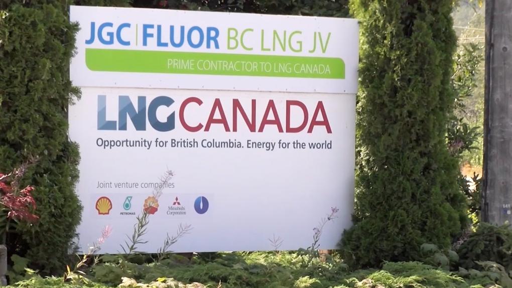 LNG Canada generic sign