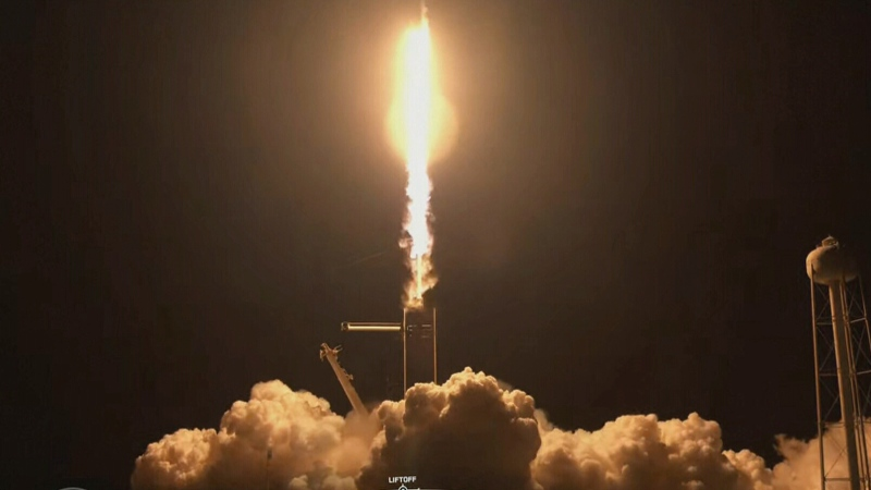 SpaceX launches an all-civilian flight