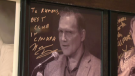 Signed Norm Macdonald picture in Winnipeg's Rumor's Comedy Club