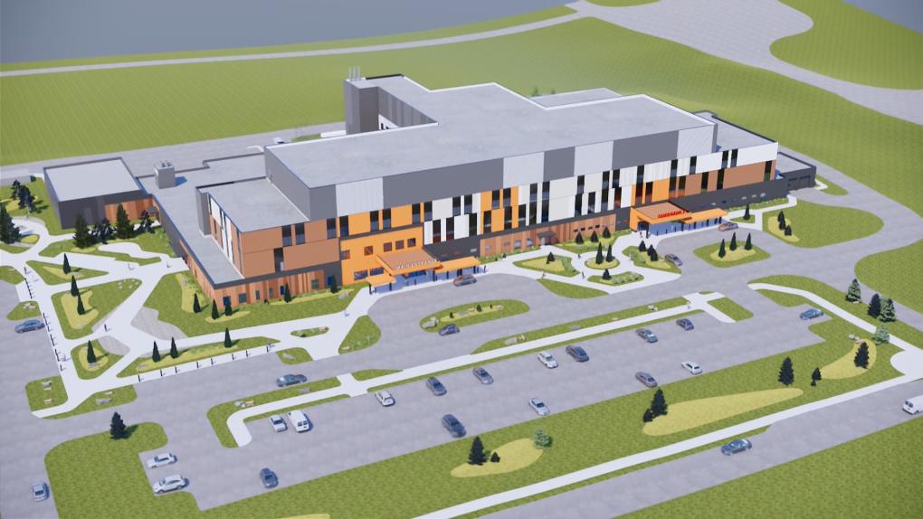 New Mills Memorial Hospital animation 1