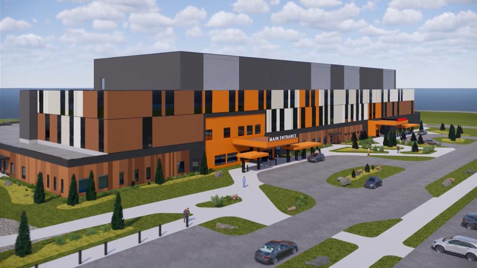 New Mills Memorial Hospital animation 2