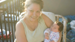 Anna Joseph is pictured with her granddaughter. She's now battling COVID-19 in the intensive care unit at Vancouver General Hospital.