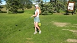 Calgary golfer Katy Rutherford is teeing it up at the ATB Financial Classic Thursday morning on her home course, Country Hills