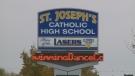 St. Joseph's Catholic High School in Windsor, Ont. (CTV Windsor)