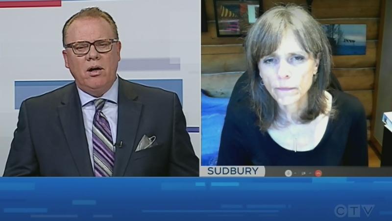 Brendan Connor interviews Penny Sutcliffe. Sept. 15/21 (CTV Northern Ontario)