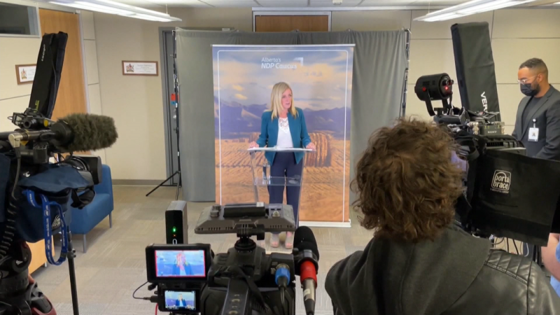 """""""It should never have come to this,"""" NDP and Official Opposition Leader Rachel Notley told media on Sept. 15, 2021, after the Alberta government announced new restrictions to deal with a fourth COVID-19 wave."""