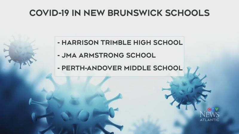 More N.B. schools confirm COVID-19 cases