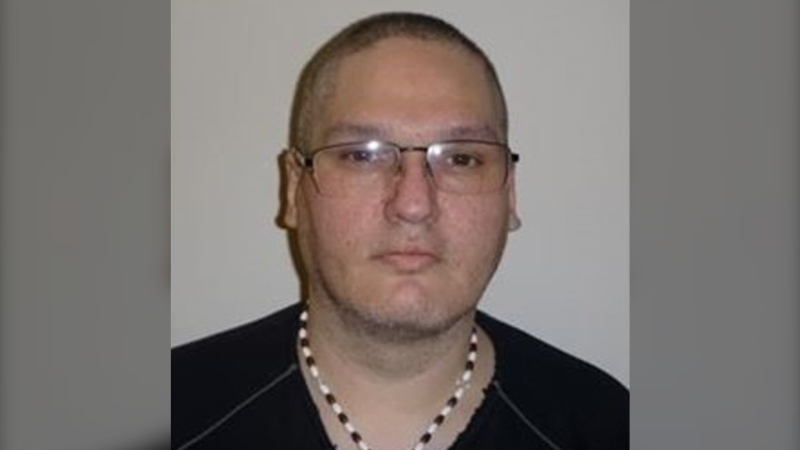 45-year-old James Sheldon Jasper was released from the Stony Mountain Institution on Sept. 16, 2021. Police advise he is a convicted sex offender considered a high risk to reoffend. (Source: Winnipeg Police Service)