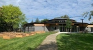 The new Indigenous-led Nshwaasnangong Child Care and Family Centre in London, Ont. is seen Thursday, Sept. 16, 2021. (Reta Ismail / CTV News)