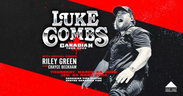 Win Tickets to Luke Combs in Ottawa!