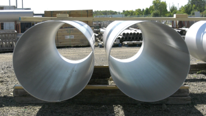 Stainless steel pipe and fitting manufacturer Douglas Barwick is located on California Avenue in Brockville. (Nate Vandermeer/CTV News Ottawa)