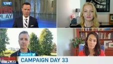 Candidates on COVID-19 surge in Alberta