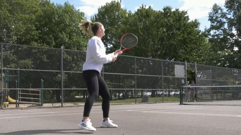 Gaby Dabrowski celebrated by her hometown