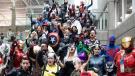 Cosplaying fans gather for a photo at the Edmonton Expo (Source: Edmonton Comics & Entertainment Expo)