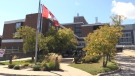 Orillia Soldiers' Memorial Hospital in Orillia, Ont. on Thurs., Sept. 16, 2021 (Siobhan Morris/CTV News)