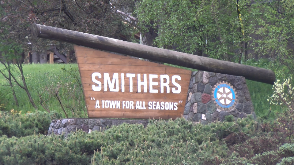 Smithers town sign