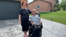Dave Dame and his wife, Kelly. (Natalie van Rooy/CTV News)