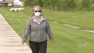 Margo Singleton works as an emergency room nurse at Bethesda Regional Health Centre in Steinbach, and is speaking out about Manitoba's nursing shortage. (Source: Michelle Gerwing/ CTV News Winnipeg)