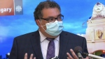 """Calgary mayor Naheed Nenshi says the UCP government's latest restriction and plan for its style of a vaccine passport is """"ridiculous"""" and """"cruel."""" (File)"""