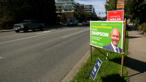 Green Party support holds steady in B.C.