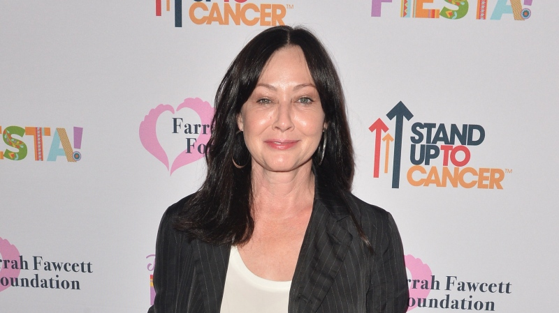 Shannen Doherty is pictured here on Sept. 6, 2019, in Beverly Hills. (Jerod Harris/Getty Images North America/Getty Images)