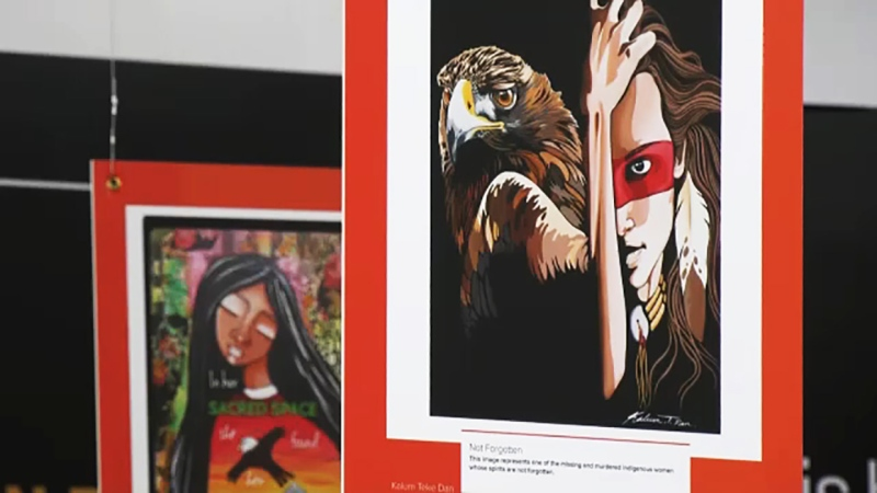 A  popular Indigenous art show at Southcentre Mall aims for a spirit of reconciliation. Kevin Fleming reports