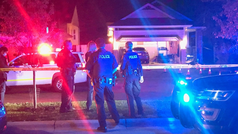 A man is in hospital in stable condition following a shooting Thursday night in Coventry Hills